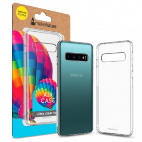 Чехол-накладка MakeFuture Air для Samsung Galaxy S10+ SM-G975 Clear (MCA-SS10P)