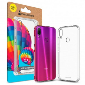 Чехол-накладка MakeFuture Air для Xiaomi Redmi Note 7 Clear (MCA-XRN7)