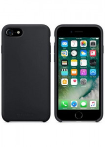 Чехол-накладка MakeFuture Silicone Apple iPhone 8 Black (MCS-AI8BK)