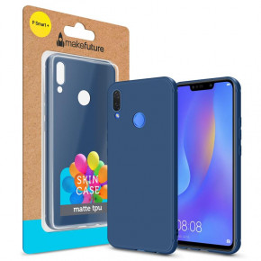 Чехол-накладка MakeFuture Skin для Huawei P Smart+ Blue (MCSK-HUPSPBL)