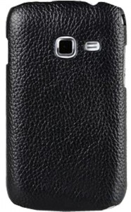 Чехол для Samsung Galaxy Ace Duos S6802 Melkco Leather Snap Cover Black (SS6802LOLT1BKLC)