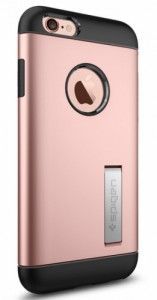 Чехол-накладка Spigen Case Slim Armor Rose Gold для iPhone 6/6S (SGP11723)