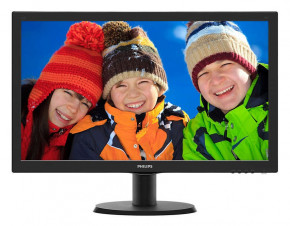 Монитор Philips 23.6 243V5QSBA/00 Black
