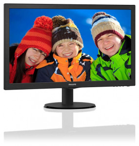 Монитор Philips 23.6 243V5QSBA/00 Black 3