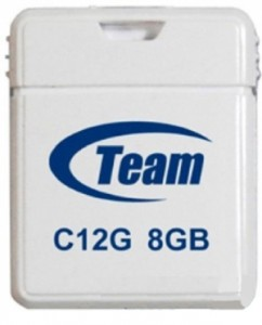 Флешка USB Team C12G 8GB White (TC12G8GW01)