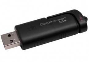 Флешка Kingston 16GB DataTraveler 104 Black (DT104/16GB)