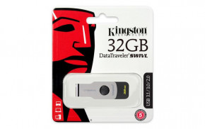 Накопитель Kingston 32GB USB 3.1 Swivl (DTSWIVL/32GB)
