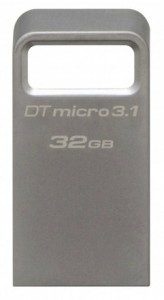 Флешка Kingston 32Gb DataTraveler Micro USB 3.1 DTMC3/32GB