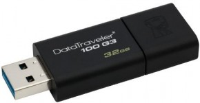 Флешка USB Kingston DT100 G3 32GB USB 3.0 (DT100G3/32GB) 2