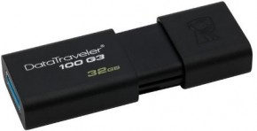 Флешка USB Kingston DT100 G3 32GB USB 3.0 (DT100G3/32GB) 4