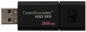 Флешка USB Kingston DT100 G3 32GB USB 3.0 (DT100G3/32GB) 5