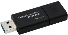 Флешка USB Kingston DT100 G3 64GB USB 3.0 (DT100G3/64GB)