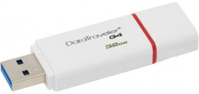 Флешка USB Kingston DTIG4 32GB USB 3.0 Red (DTIG4/32GB) 5