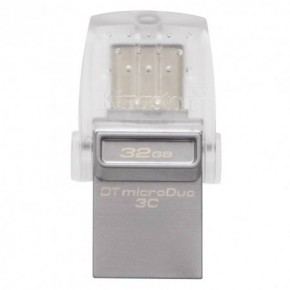 Фотография Флешка Kingston USB3.1 32Gb DataTraveler microDuo 3C (DTDUO3C/32GB) (0)