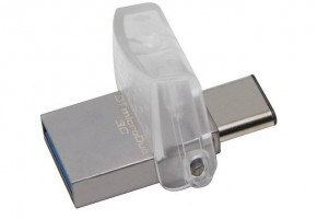 Фотография Флешка Kingston USB3.1 32Gb DataTraveler microDuo 3C (DTDUO3C/32GB) (1)