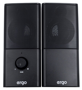Мультимедийная акустика Ergo USB 2.0 Black (S-08)