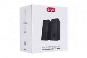 Мультимедийная акустика Ergo USB 2.0 Black (S-08) 7