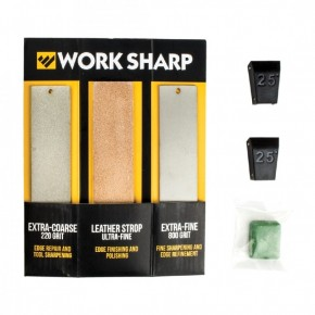 Точильный набор Work Sharp для Guided Sharpening System Upgrade Kit English Only