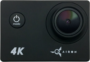 Экшн-камера AIRON Simple 4K Black