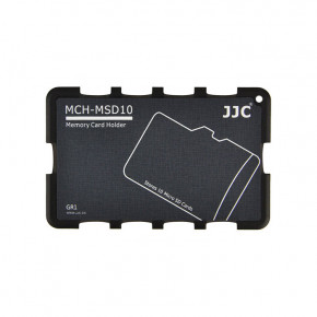 Кейс для карт JJC Memory Card Holder (MCH-MSD10GR)