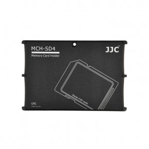 Кейс для карт JJC Memory Card Holder (MCH-SD4GR)