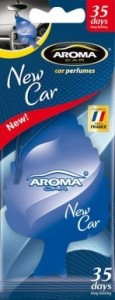 Ароматизатор Aroma Car Leaf New Car (266)
