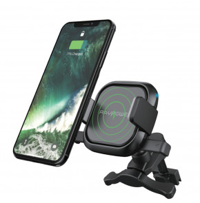Держатель для смартфона RAVPower 5W Wireless Charging Car Holder (RP-SH008)
