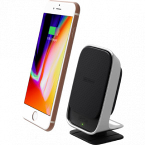 Автодержатель для смартфона iOttie Car and Desk Holder Wireless Fast Charging Black (HLCRIO133)