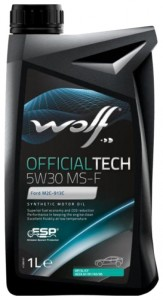 Масло моторное Wolf Officialtech 5W30 MS-F 1 л (8308611)