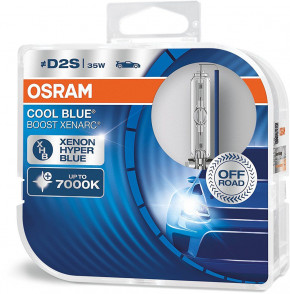 Автолампа ксенон Osram 66240CBB-DUO COOL BLUE BOOST D2S 85V 35W P32d-2 XENARC комплект