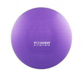 Мяч для фитнеса и гимнастики Power System PS-4018 85 см Purple