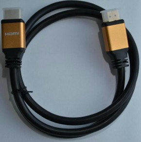 Кабель ATcom HDMI-HDMI 1.0m HIGH speed Metal gold Blister 3