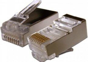 Кабель ATcom RJ45 8p8c Connectors FTP (100 штук) 4