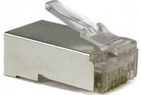 Кабель ATcom RJ45 8p8c Connectors FTP (100 штук) 5