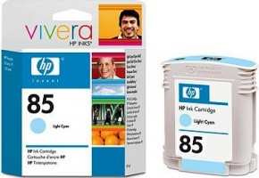 Картридж струйный HP No.85 DesignJ130/130nr/130gr Light Cyan, 69ml (C9428A)