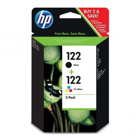 Картридж струйный HP No.122 Black/ Tri-color Combo Pack (CR340HE)