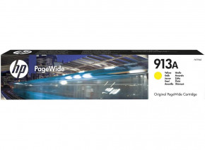 Картридж HP No.913A PageWide 352/377/452/477 Yellow (3000 стр) (F6T79AE)