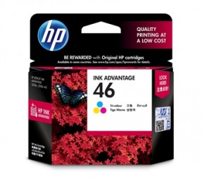 Картридж струйный HP No.46 Ultra Ink Advantage Tri-color (CZ638AE)