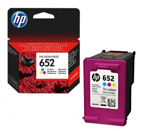 Картридж струйный HP No.652 DJ Ink Advantage 1115/2135/ 3635/3835 Color (F6V24AE)