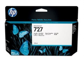 Картридж струйный HP No.727 DesignJet T1500/T920 Photo Black, 130 ml (B3P23A)