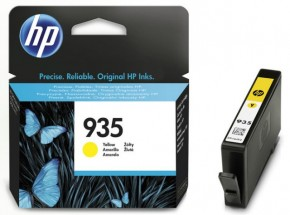 Фотография Картридж HP No.935 Officejet Pro 6230/6830 Yellow (C2P22AE) (0)