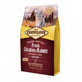 Корм для котов Carnilove Cat Fresh Chicken & Rabbit Adult 6 кг (170875/7410)