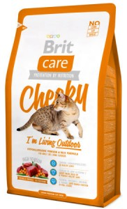 Корм для котов Brit Care Cat Cheeky I am Living Outdoor 7кг