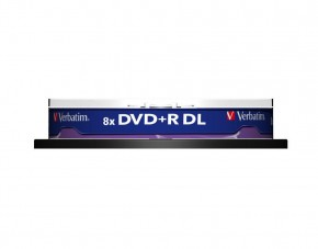 Диски Verbatim DVD+R 8,5GB 8x Cake Box 10шт Dual Layer (43666) 3