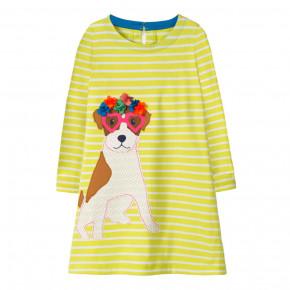 3967369d641b5a4 Детские платья желтого цвета - купить в интернет магазине mobilluck ...
