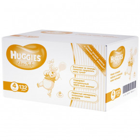 Подгузник Huggies Elite Soft 4 132 шт (5029054566220)