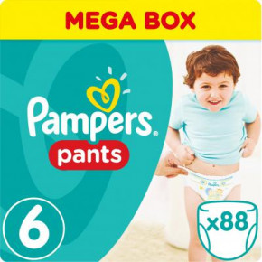 Подгузник Pampers Pants Extra Large 16+ кг, Мега 88 шт (4015400697558)