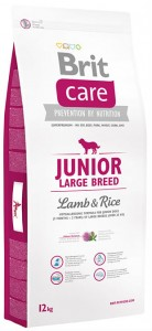 Корм для щенков Brit Care Junior Large Breed Lamb & Rice 12кг