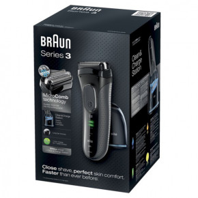 Электробритва Braun Series 3 3050 CC Black 5