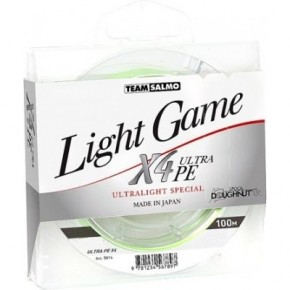 Шнур Salmo Team Light Game X4 Ultra PE 100 м (5014-004)